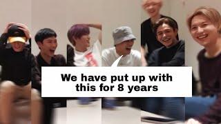 [ENG SUB] SuperM laughing even when Baekhyun just breathes. Baekhyun the funny member.