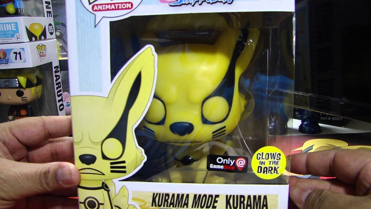 Kurama Mode Kurama Amp Hollow Ichigo Funko Pop Figures