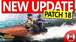 #PUBGXbox #Patch18 PUBG Xbox New Update - Patch 18 - Dynamic Weather, Limb Penetration and More