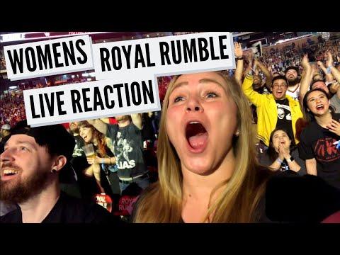 WOMENS ROYAL RUMBLE 2020 LIVE REACTION