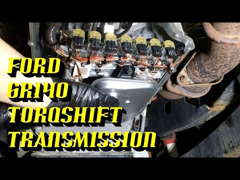 2011-2017 Ford Superduty 6R140 Torqshift6 Transmission: Fluid and Filter Replacement