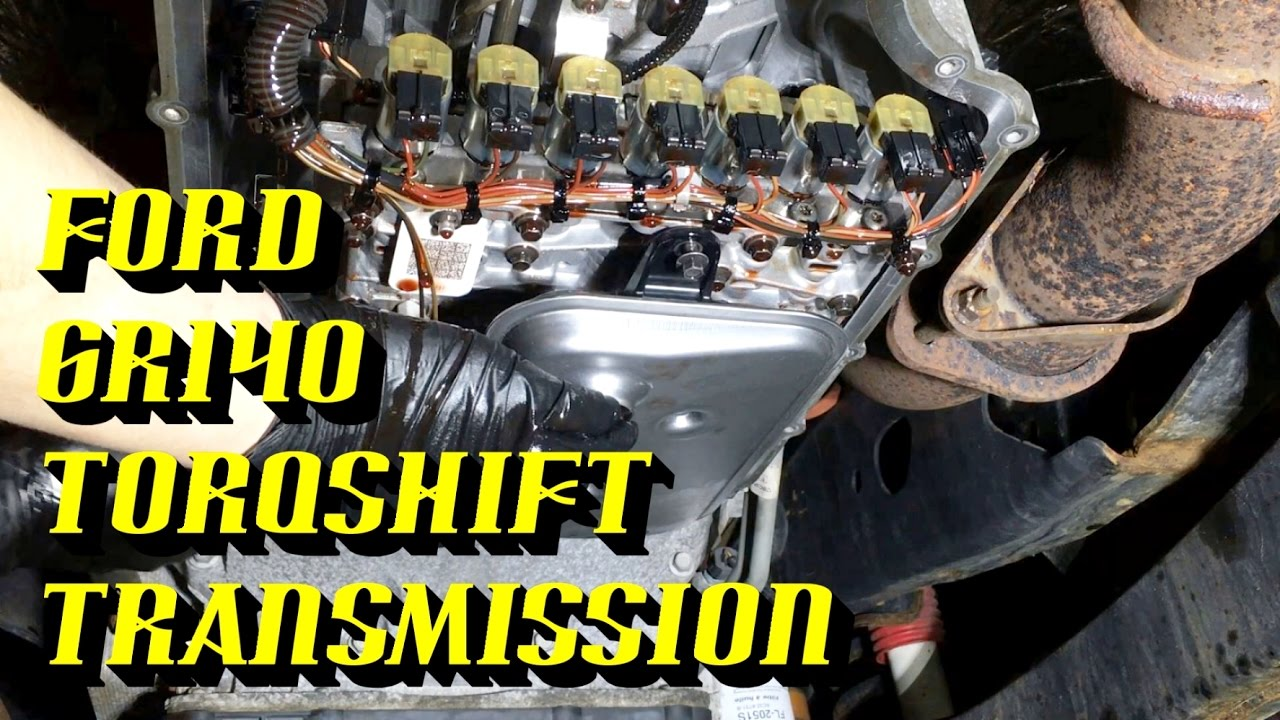 small resolution of 2011 2017 ford superduty 6r140 torqshift6 transmission fluid and filter replacement