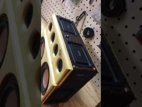 Homemade Bluetooth speaker