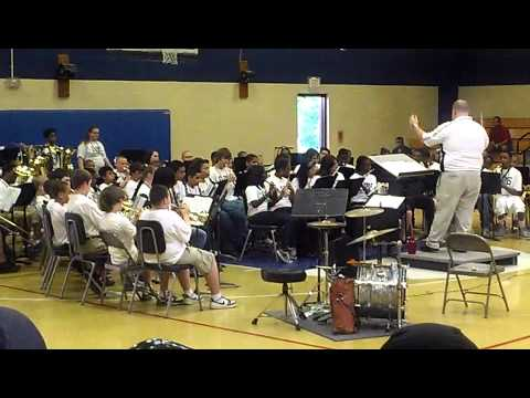 Eaton Johnson Middle School Band 2