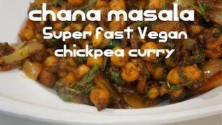 Chana Masala Recipe Indian Style Chickpeas Vegan