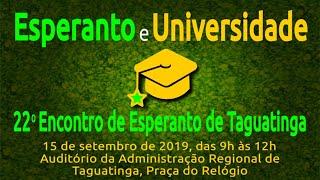 O Esperanto e as Universidades | TEK