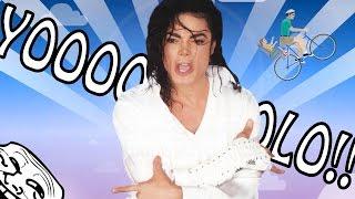 MICHAEL JACKSON NO ME QUIERE! :(| Happy Wheels - JuegaGerman