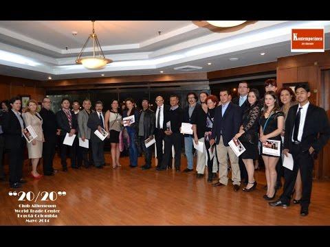 """EXPOSICIÓN  """"20/20"""" 2014   ATHENEUM WORLD TRADE CENTER CLUB  Bogotá Colombia"""