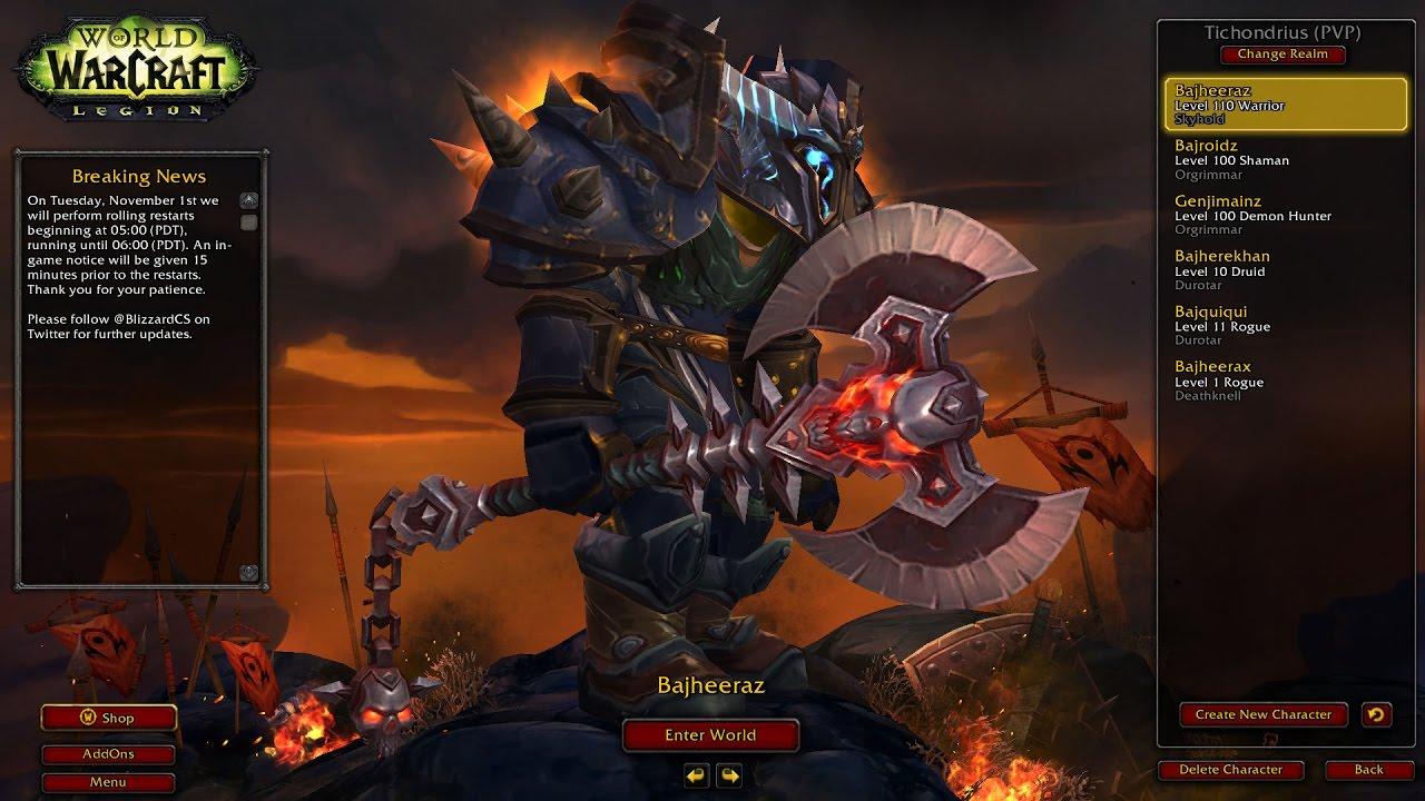 bajheera arms warrior hidden artifact appearance unlocked wow