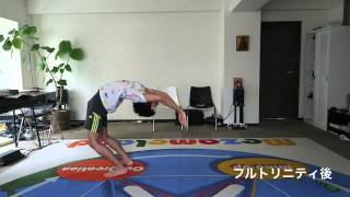 Yoga Drop Back with FullTrinity 相楽のり子 動画 28