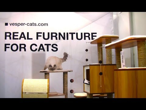 Vesper Cat Furniture at CatCon 2017