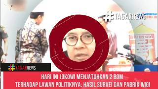Hari Ini Jokowi Menjatuhkan 2 80M Terhadap Lawan Politiknya Hasil Survei Dan Pabrik Wig!
