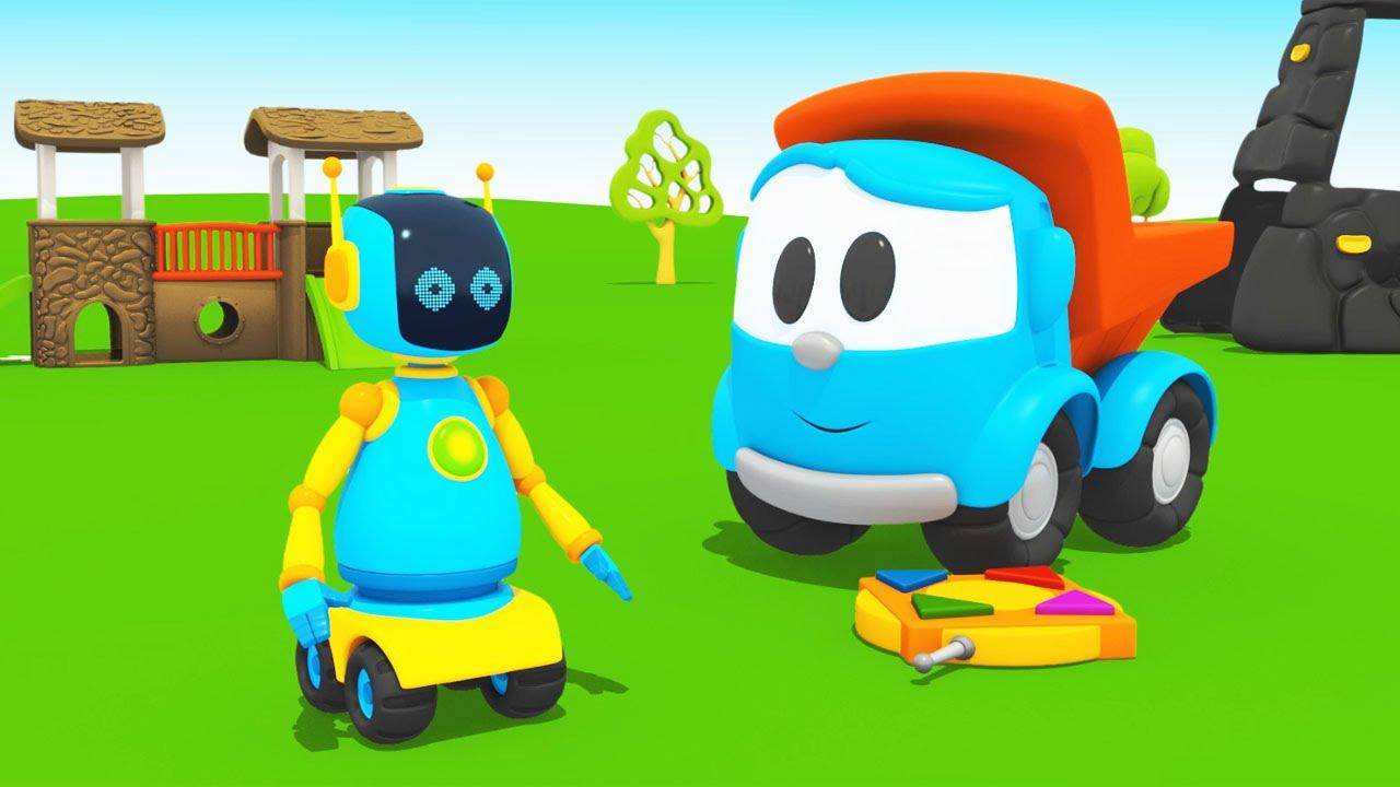 Cartoni animati per bambini leo junior e il robot youtube