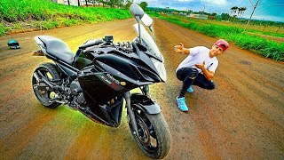 PROVÁVEL NOVA MOTO DO CANAL ‹ XJ6 CARENADA ›