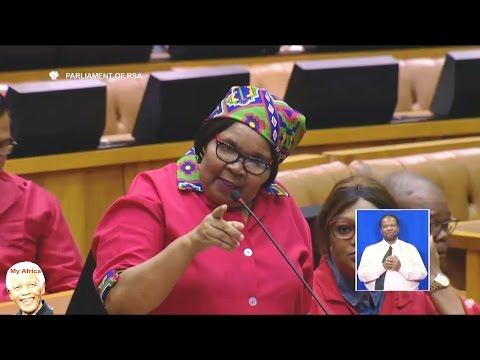 FUNNY - Allegations Of Alcohol And Insults In Parliament. EFF vs ANC