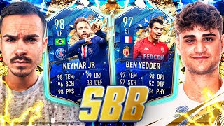 FIFA 20 : NEYMAR 98 TOTS vs BEN YEDDER 97 TOTS - SQUAD BUILDER BATTLE VS ELI !! 😱🔥