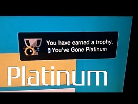Platinum Trophy: Sound Shapes (PS3 - All Trophies unlocked at once, instant Platinum)