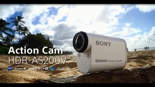 Sony Action Cam | HDR-AS200V | 運動攝影機