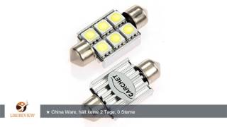 видео Светодиодная лампа SJ-3SMD-5050-CANBAS-36MM
