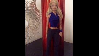 EPISODIO 88.COMO HACER  leggins para barbie y monster high con un calcetin