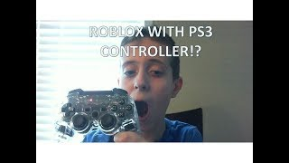 Roblox jailbreak | playing jailbreak with a ps3 controller! (audio)