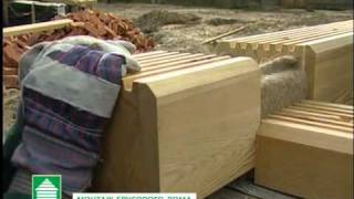 Монтаж дома из клееного бруса MINDA Техимпорт(, 2012-01-19T06:20:33.000Z)