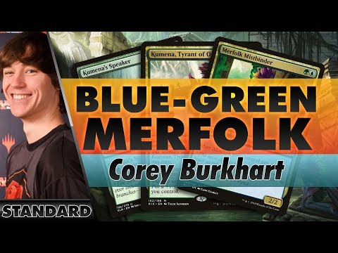 Blue-Green Merfolk - Standard | Channel Corey