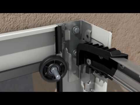 Montage De La Porte De Garage Sectionnelle Hormann Youtube