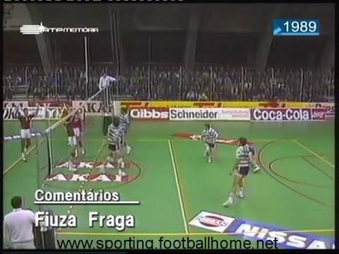 Voleibol :: Sporting - 3 x Benfica - 0 de 1989/1990