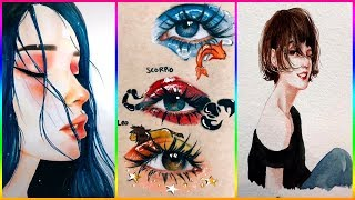 BEST TIK TOK ART COMPILATION 2019 PART 5