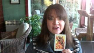 Suzanne Wagner describes the meaning of the Knight of Wands in the ...