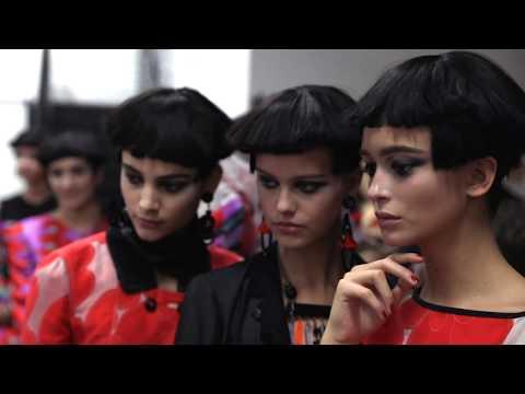 Giorgio Armani Spring Summer 2018 Women's Fashion Show Backstage