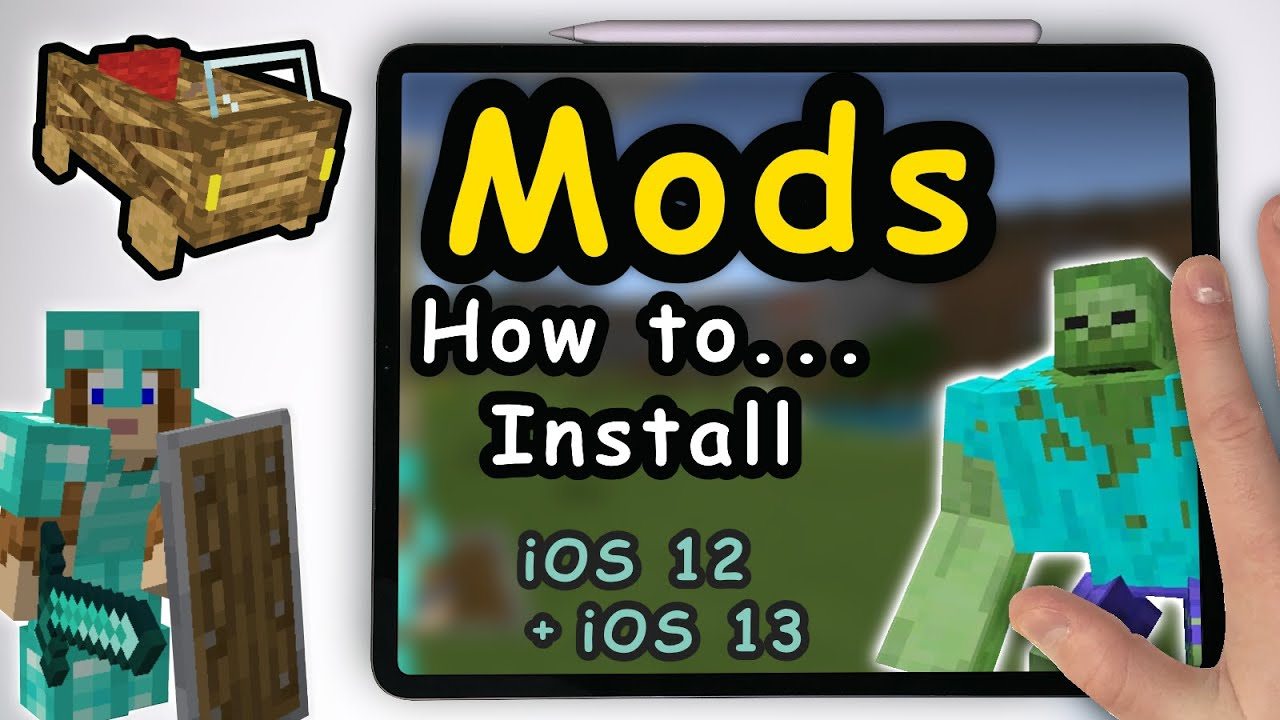 How to add Free Modes / Addons in Minecraft PE for iOS / iPadOS