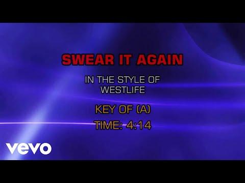 Westlife - Swear It Again (Karaoke)
