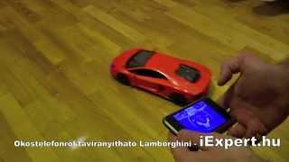 iCar Lamborghini, ahol az okostelefon lesz a távirányító