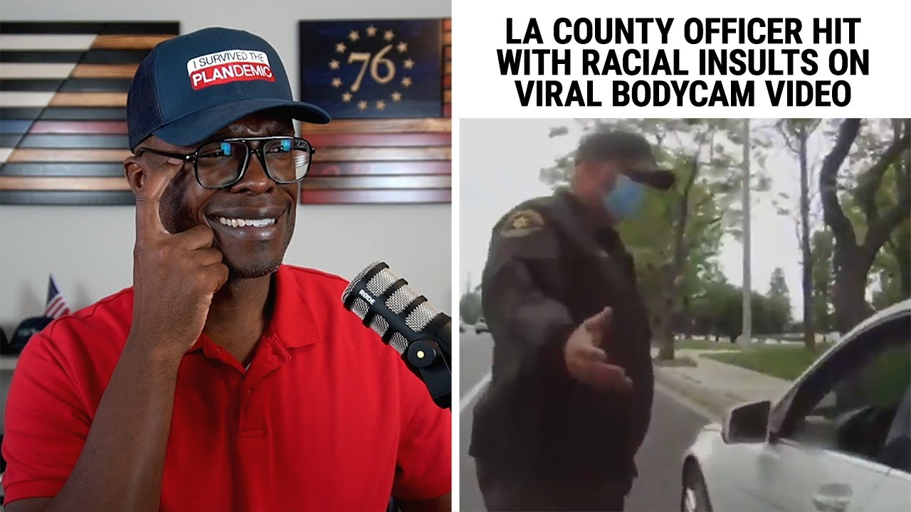 Top Tier Pro Officer Hit With RACIAL INSULTS On Viral Bodycam Video!