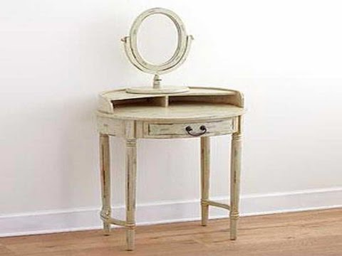 Ideas For Small Vanity Table