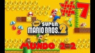 Guia de New Super Mario Bros 2 [100%] Parte 7   Mundo 2-2