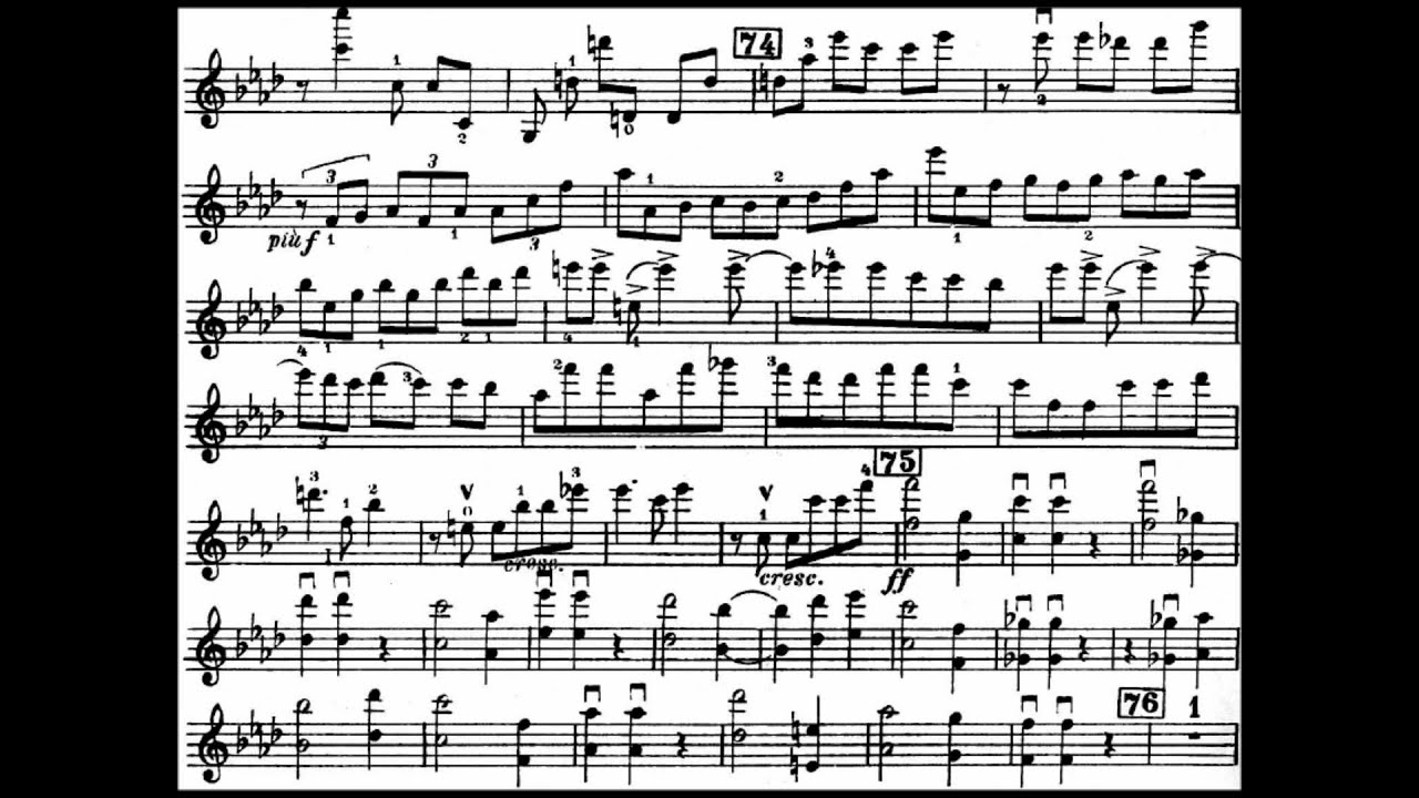 Shostakovich Violin Concerto No. 1 Op. 99 (III. Passacaglia)(Hilary Hahn)