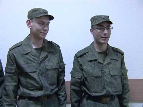 Посещение в Екатеринбурге воинской части