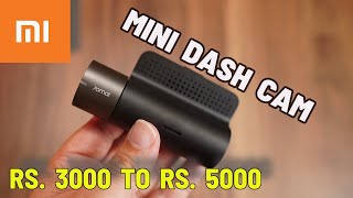 Xiaomi 70mai Mini Car Dash Cam with Parking Monitor for Rs. 3000 onwards