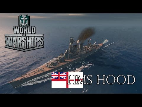World of Warships - HMS Hood