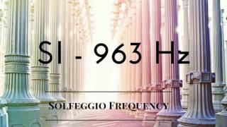 Si - 963 hz | pure tone | solfeggio frequency | 8 hours |