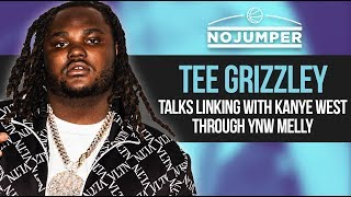 Tee Grizzley talks linking with Kanye West through YNW Melly