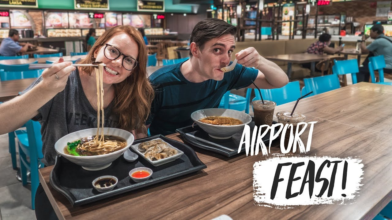 The Best Airport Food Ever Delicious Noodles At Singapore Airport Bali To Athens Greece