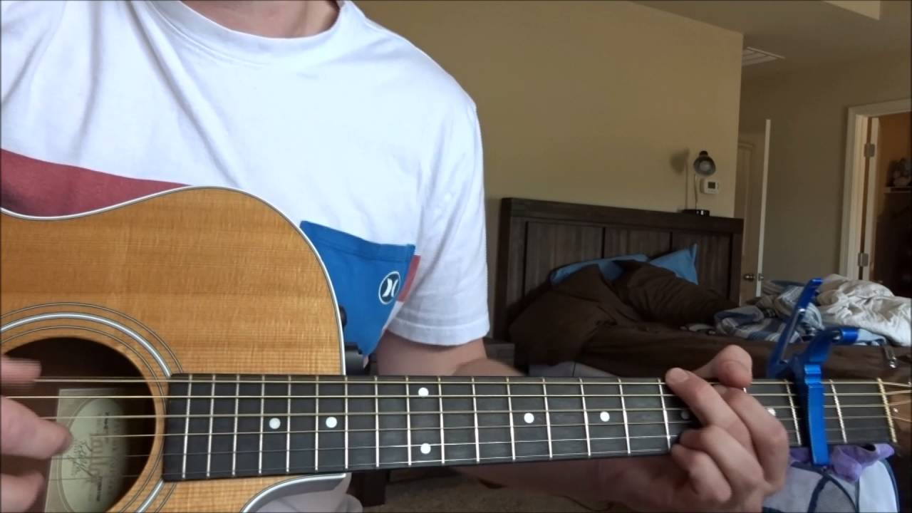Broadripple Is Burning Acoustic Guitar Lesson Youtube
