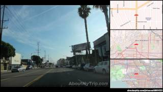 North Spaulding Avenue (Mid City West, Los Angeles, CA) to North Swall Drive