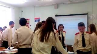 Урок русского языка в 9 классе.