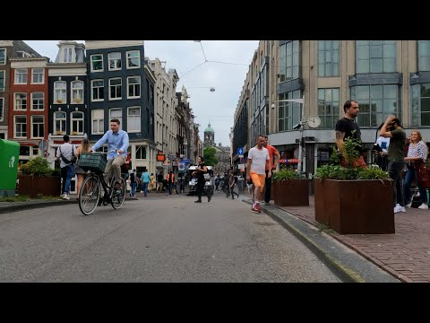 Streets Of Amsterdam.  The Dingy Old Town Is Filling Up With Beautiful People Again. 3 -7 2021