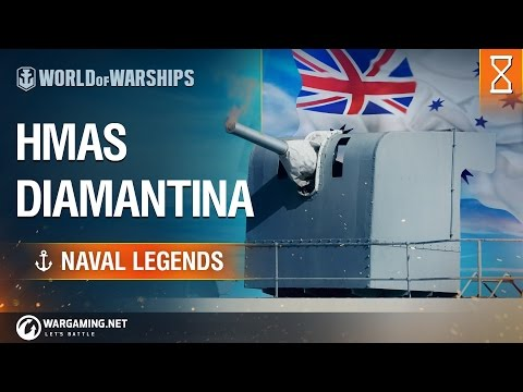 [Naval Legends] HMAS Diamantina